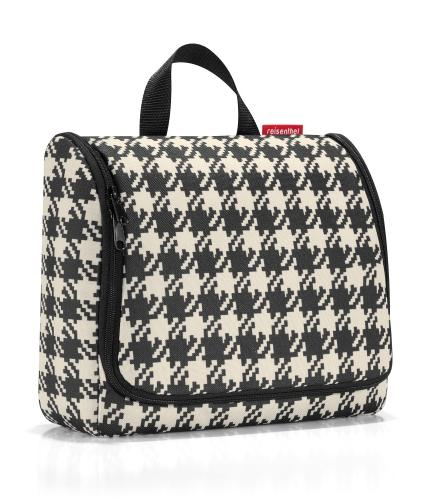Reisenthel Cosmetic Bag in Dogtooth Check
