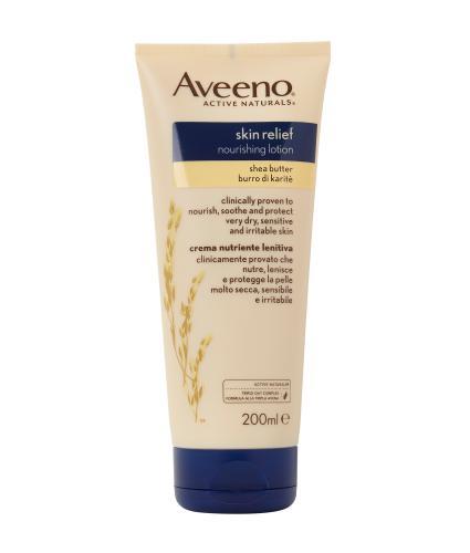 Aveeno Skin Relief Nourishing Lotion Shea