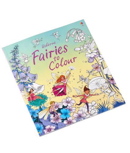 Usborne Fairies Colouring Book