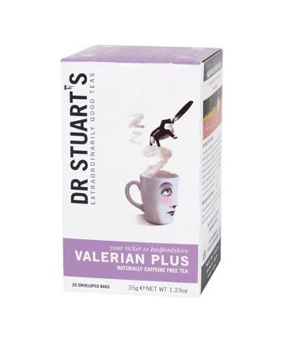 Dr Stuart's Valerian Plus Botanical & Fruit Tea