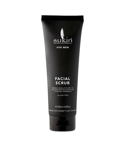 Sukin For Men Facial Scrub 125ml - Front