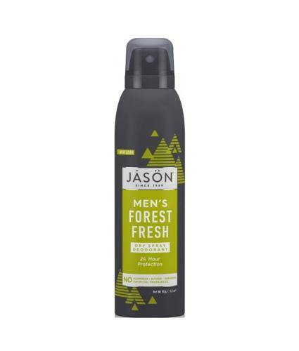 Jason Men's Forest Fresh Deodorant Spray 90g