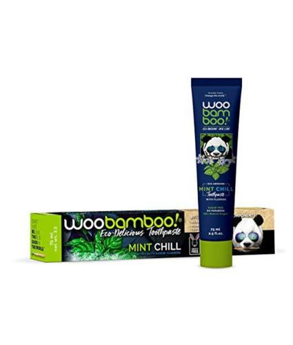 Woobamboo Mint Chill Toothpaste with Fluoride 75g
