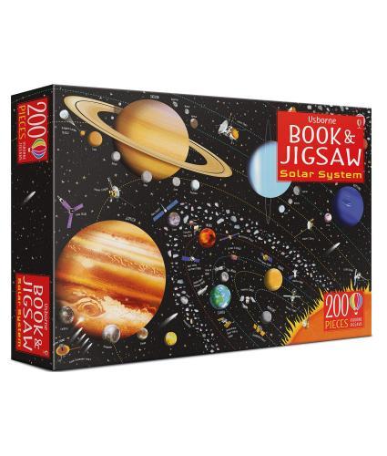 Usborne Book And Jigsaw: Solar System