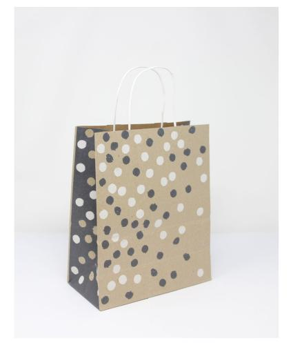 Eco Nature Sustainable Spotty Gift Bag