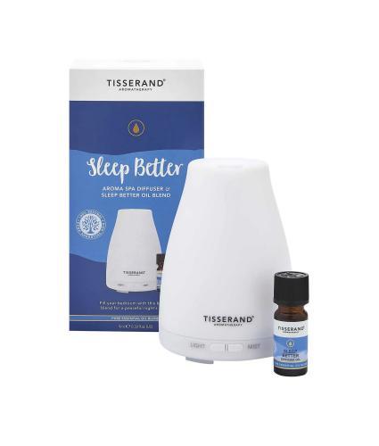 Tisserand Sleep Better Aroma Spa Diffuser & Fragrance Oil