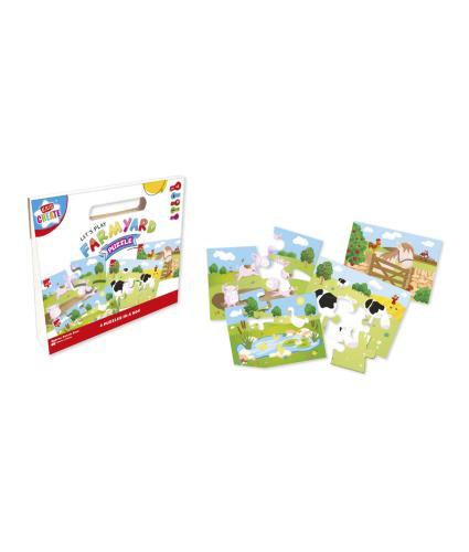 Farmyard 4-in-1 Puzzle Box