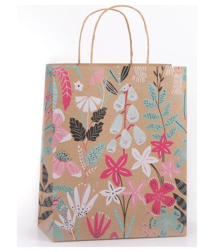 Eco Rainforest Floral Gift Bag