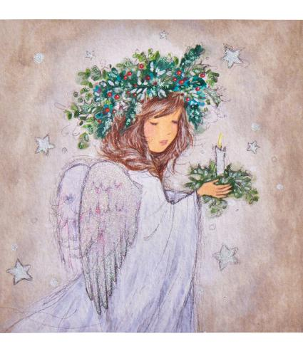 Little Angel Christmas Cards - Pack of 10