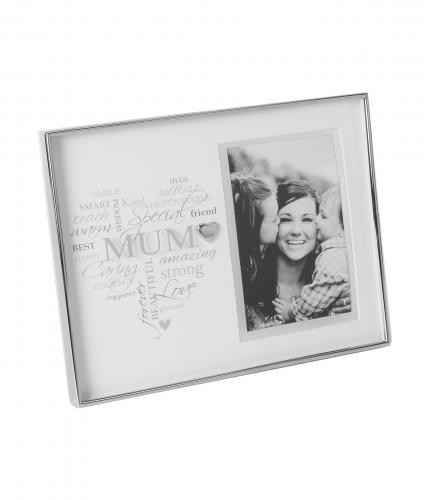 Mum Heart Frame, Mother's Day Gift, Cancer Research UK