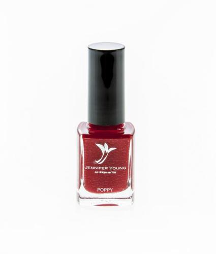 Jennifer Young High Coverage Nail Varnish Poppy Red