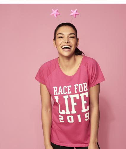 Race for Life Dated Tshirt Main Image