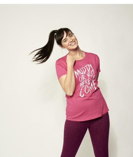 Pretty Muddy Slogan Tee