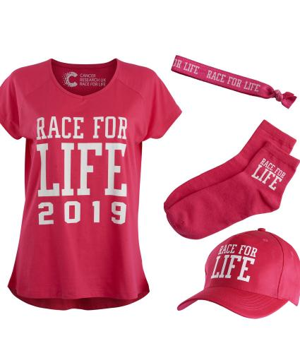 Race for Life 2019 Essential Kit 8