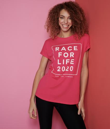 Race for Life 2020 Dated Loose Fit T-shirt