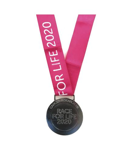 Race for Life 2020 Medal - Front