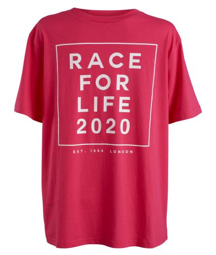 Race for Life 2020 Dated Mens T-shirt