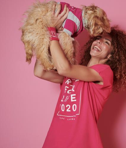 Race for Life Dog T-shirt