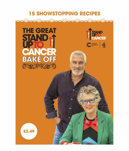 The Great Stand Up to Cancer Bake Off 2021 Recipe Booklet