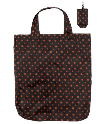 Stars Foldaway Keyring Shopping Bag