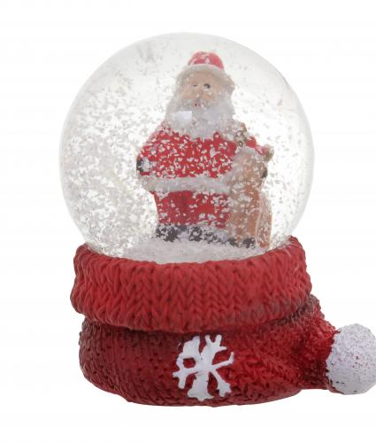 Mini Santa Water Globes Cancer Research UK Christmas Gift