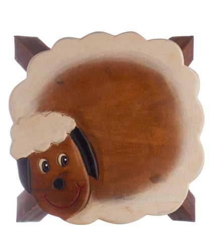 Sheep Wooden Stool