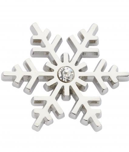 Snowflake Pin Badge, Cancer Research UK