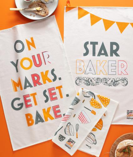 Pack of 3 Star Baker Tea Towels
