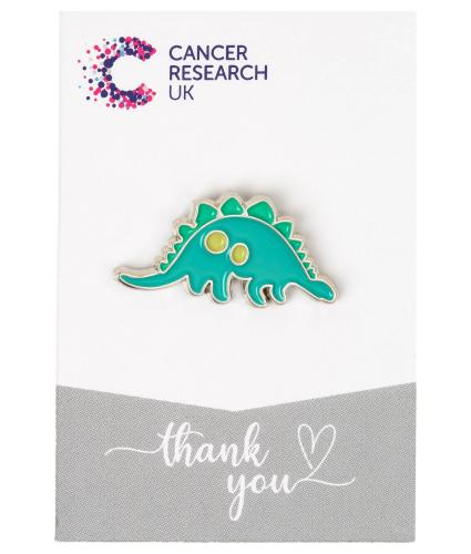 Stegosaurus Dino Pin Badge