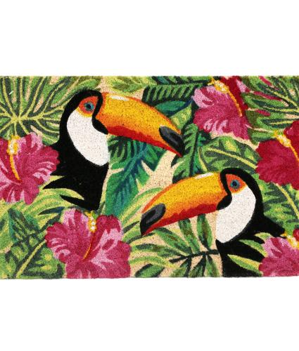 Tropical Toucan Doormat