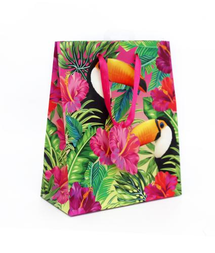 Tropical Medium Toucan Gift Bag