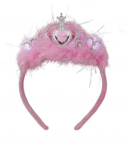 Shine Night Walk 2019 Flashing Pink Tiara