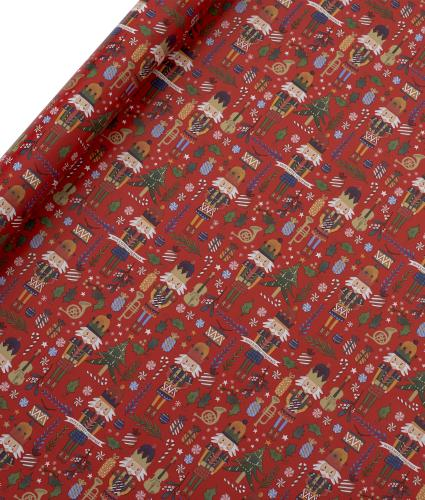 Tom Smith Red The Nutcracker Wrapping Paper