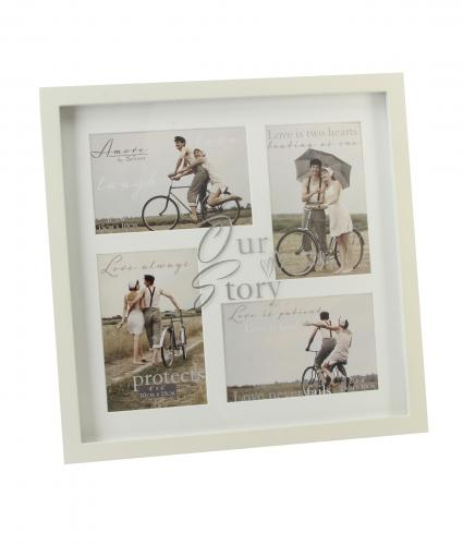 Collage Multi Aperture Frame, Wedding Gift, Cancer Research UK
