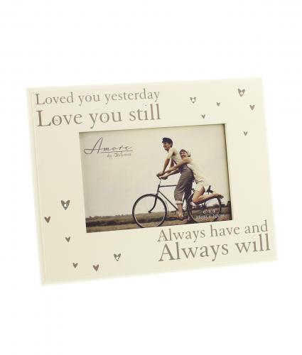Loved You Yesterday Frame, Wedding Gift, Cancer Research UK