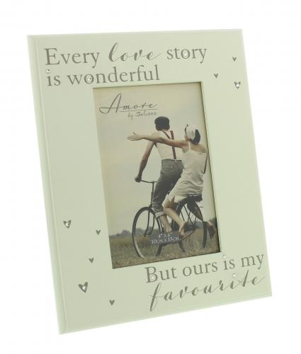 Every Love Story Frame, Wedding Gift, Cancer Research UK