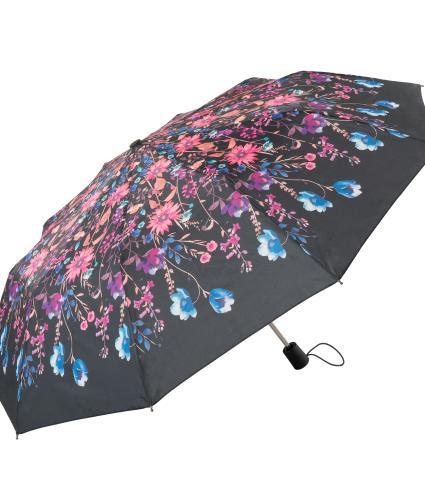 Floral Watercolour Print Umbrella Pink