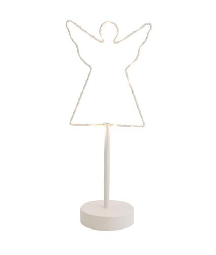White LED Metal Angel Light
