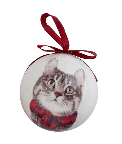 Winter Cat Bauble