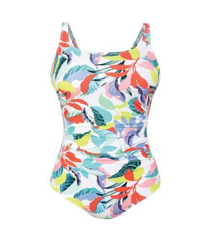 Anita Baku Splash Pocketed Swimsuit in Multi