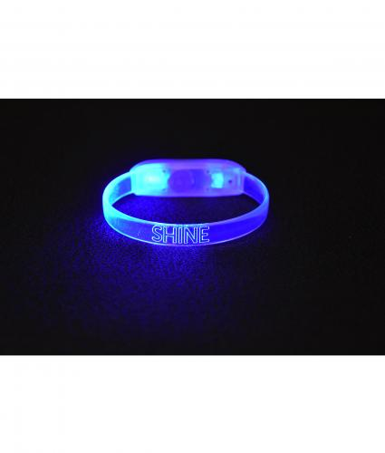 shine night walk glow wristband cancer research uk online shop. Black Bedroom Furniture Sets. Home Design Ideas
