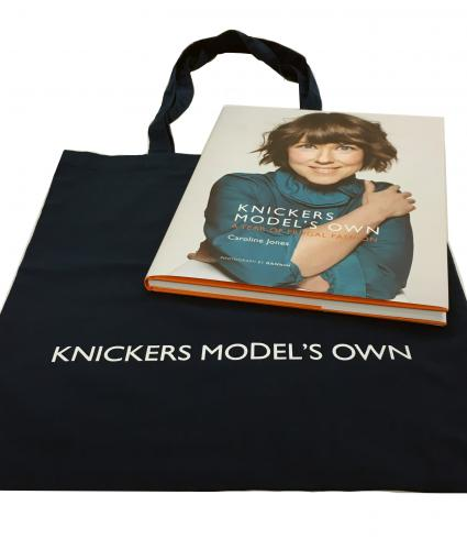 Knickers Model's Own Book & Shopper Bag Bundle