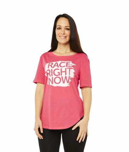 Race For Life  2017 Race Right Now Paint T-Shirt Cancer Research UK