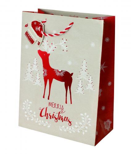 Scandinavian Large Bag Cancer Research uk Christmas Bag