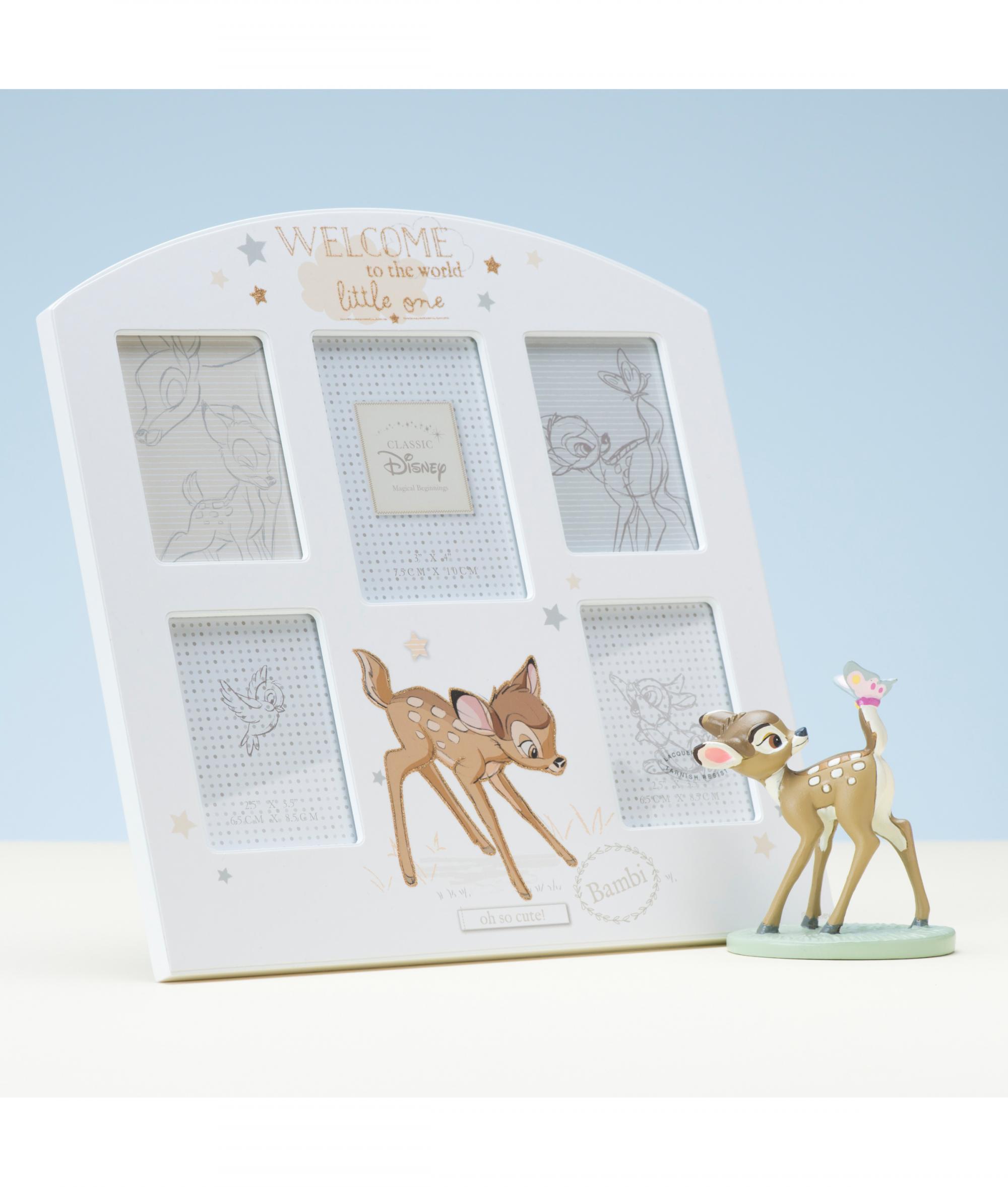 Disney Baby Gifts Uk : Disney magical beginnings bambi collage frame