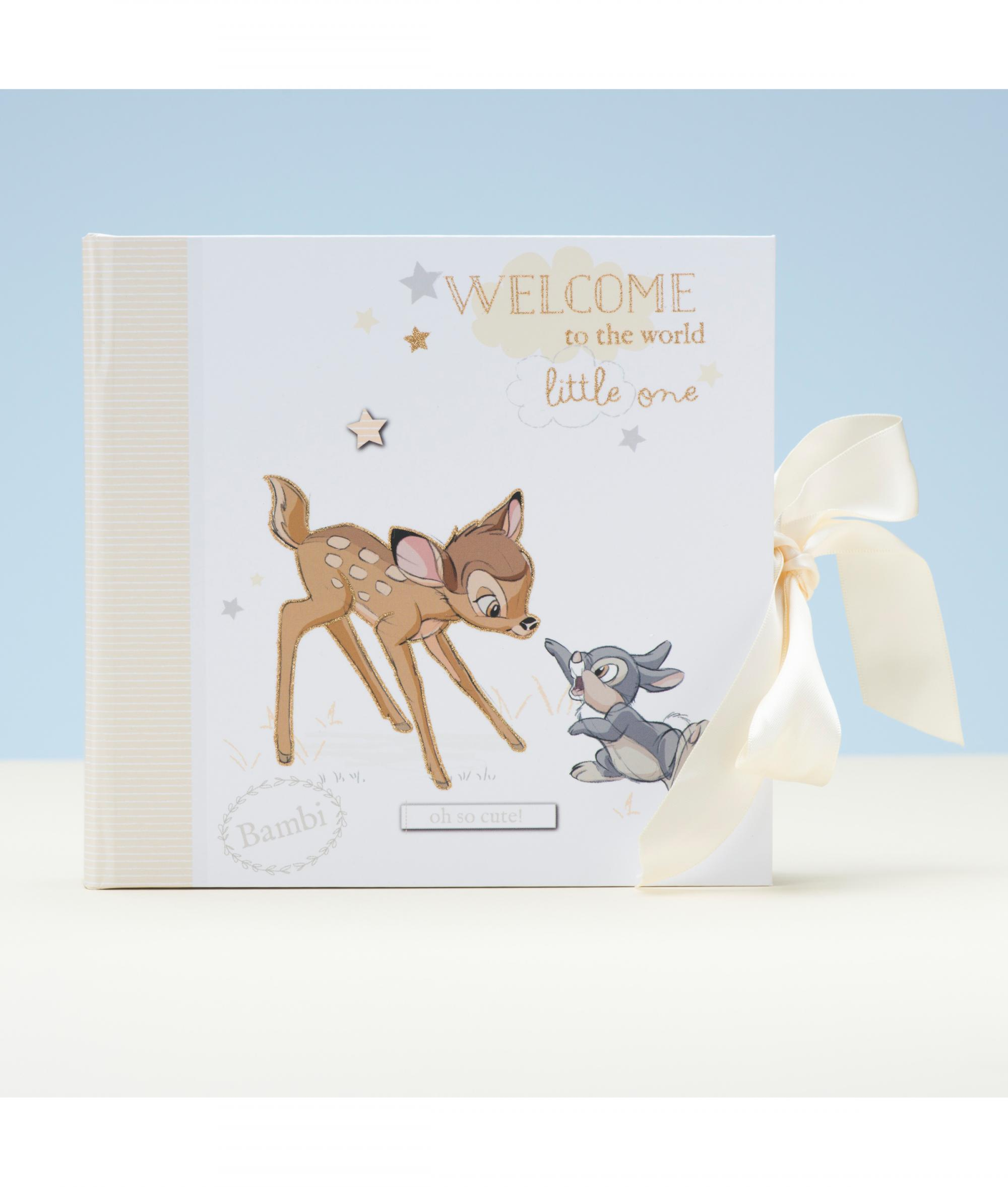 Disney Baby Gifts Uk : Disney magical beginnings bambi photo album