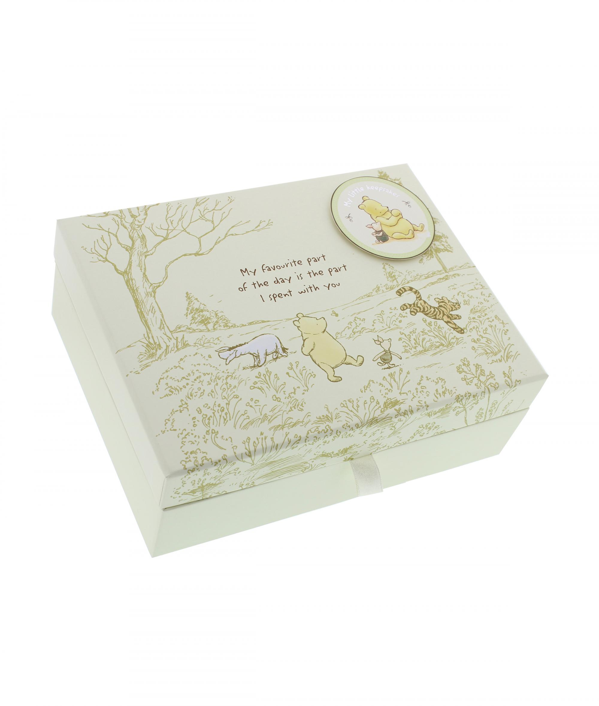 Disney Baby Gifts Uk : Disney classic pooh heritage keepsake box