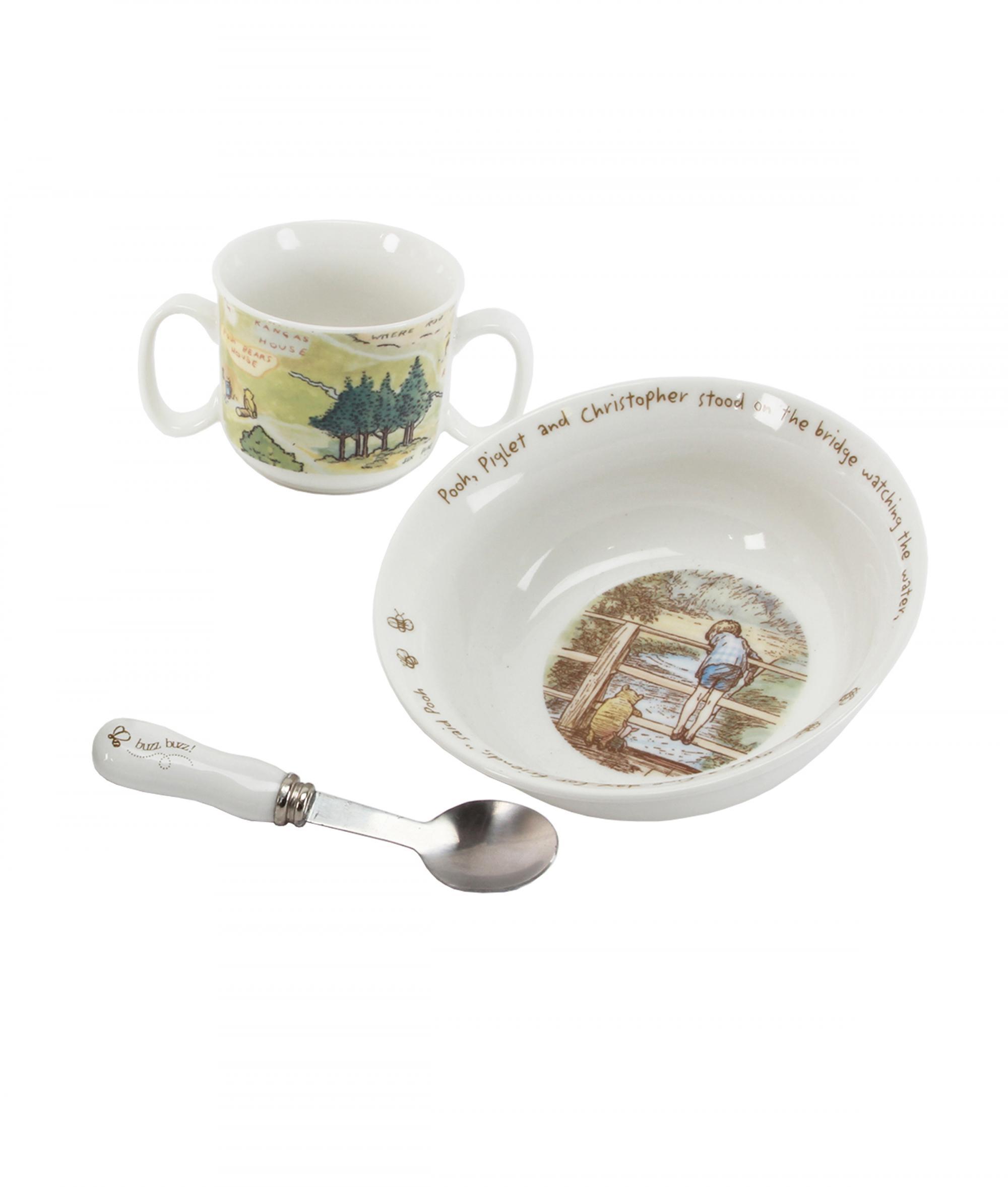 Disney Baby Gifts Uk : Disney classic pooh heritage bowl and mug