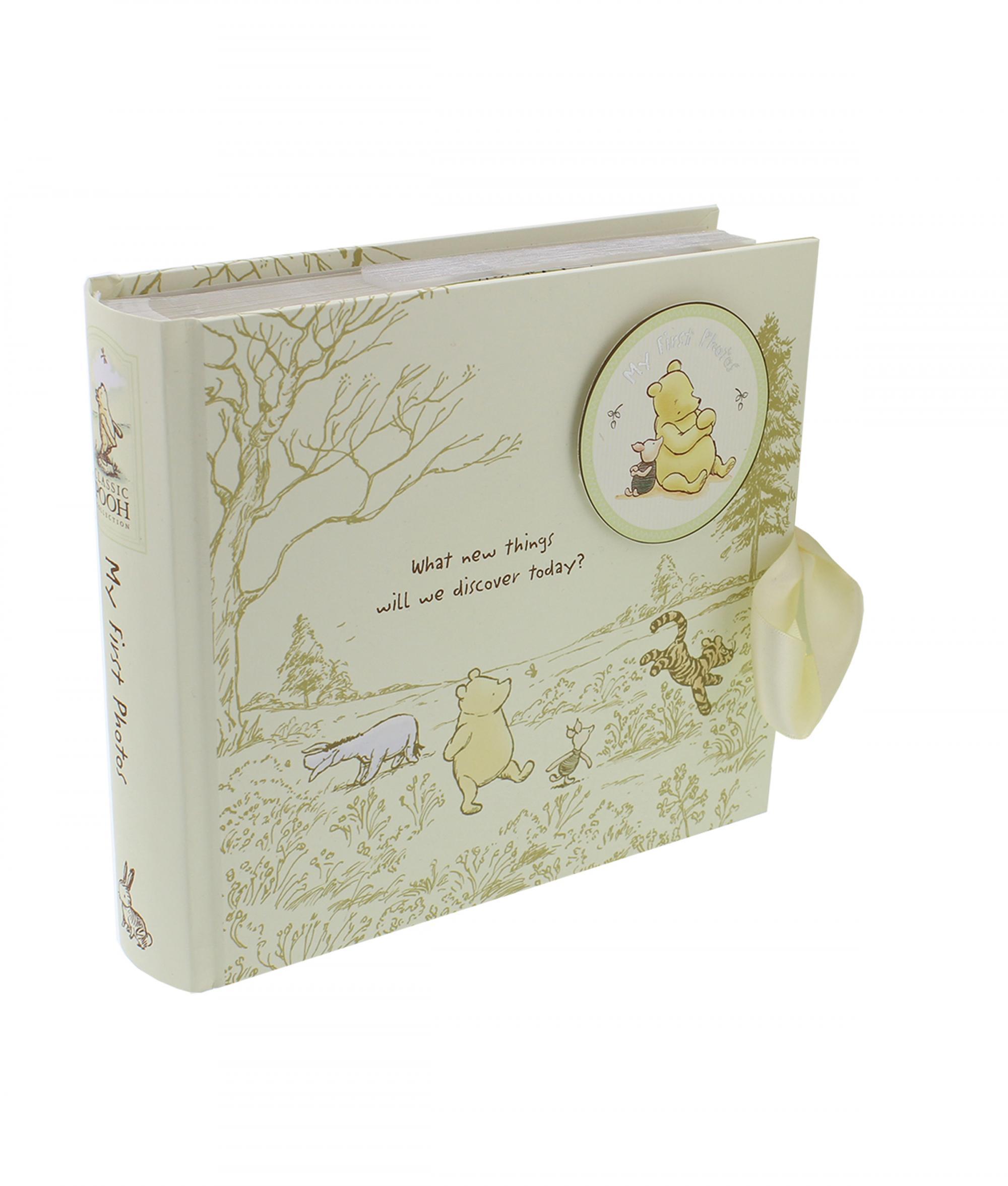 Disney Baby Gifts Uk : Disney classic pooh heritage photo album