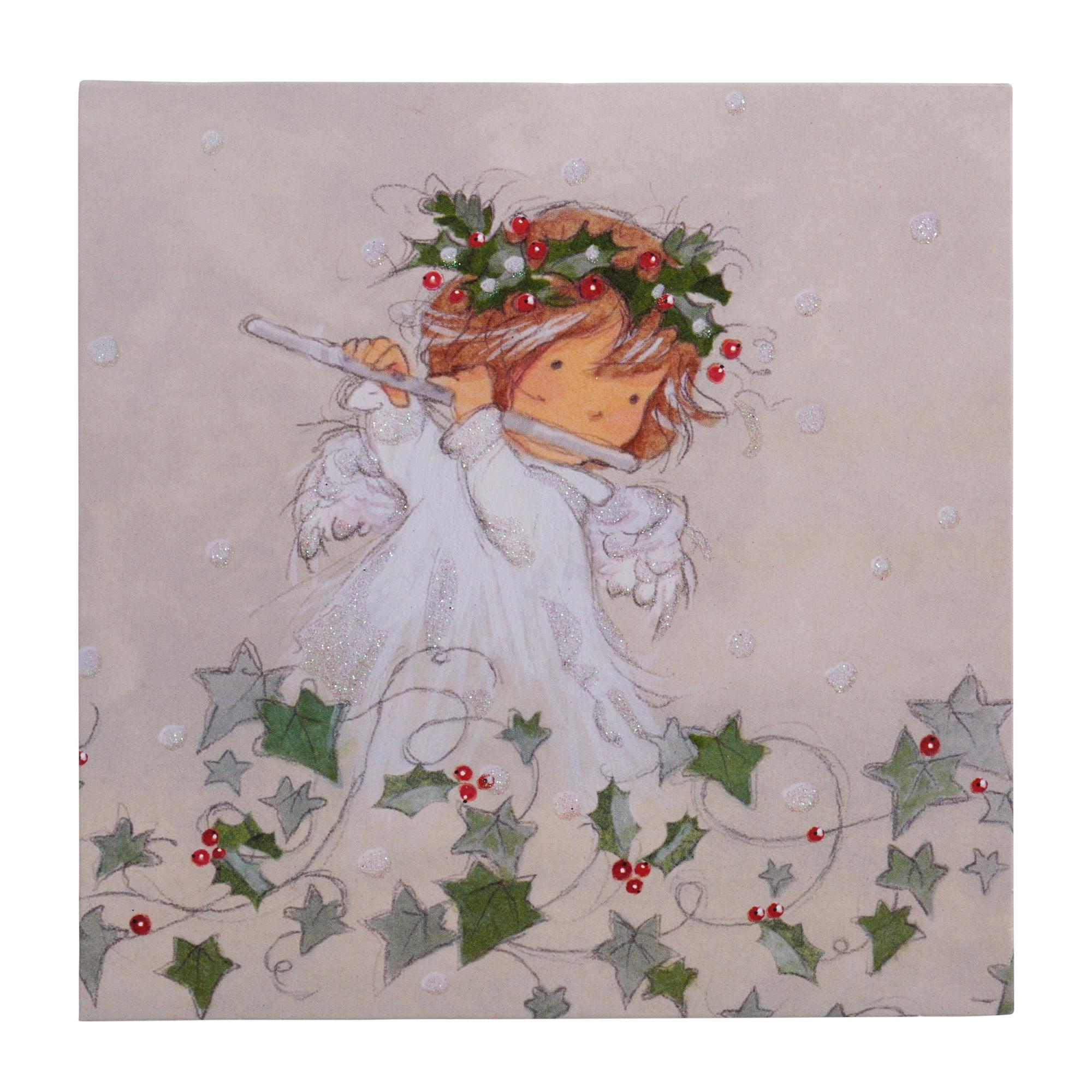 Little Angel Christmas Cards - Pack of 10   Cancer Research UK ...